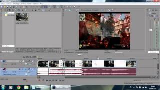 [Sony Vegas] - Accélérer/ralentir/mettre en pause une vidéo (avec le son).