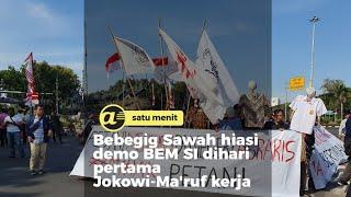 Ini 9 tuntutan BEM SI untuk pemerintahan Jokowi-Ma'ruf