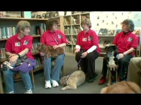 Therapy Dogs International's Children Reading To Dogs Tail