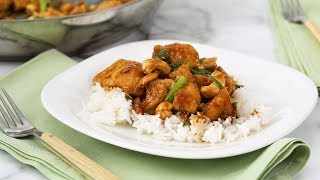 Cashew Chicken- Martha Stewart