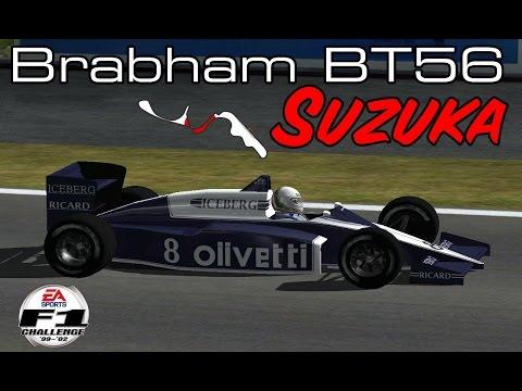 [F1C] Motor Racing Developments Brabham-BMW BT56 @ Suzuka with Andrea De Cesaris (DRR 1987)