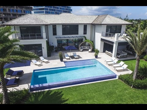 New Contemporary Home - Albany Bahamas House