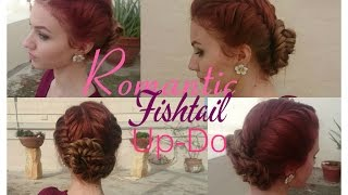 Romantic Fishtail Up-do | Stella Thumbnail