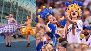 I WORE BALLOONS AS CLOTHING! | Elsa Rhae + Molly Balloons