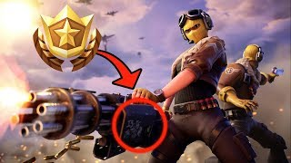 Secreto semana 1 Battle Star localização! Fortnite tela de carregamento semana 1 Battle Star temporada 9