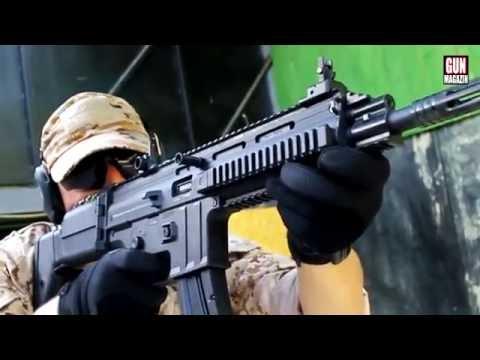 Shooting the ISSC MSR MK22 (.22LR SCAR)