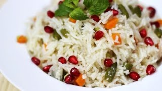 Vegetable Pulao Recipe - Veg Pulao - Indian Rice Variation