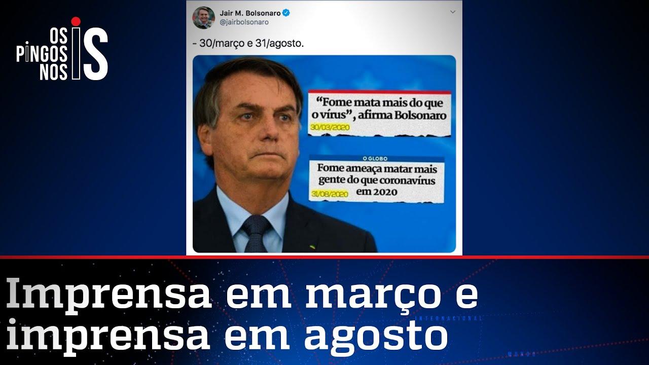 Bolsonaro tinha razão: fome vai matar mais que o vírus