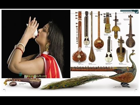The World Of Indian Musical Instruments ! Tabla, Shahnai, Pungi,  etc ! Name Part 2