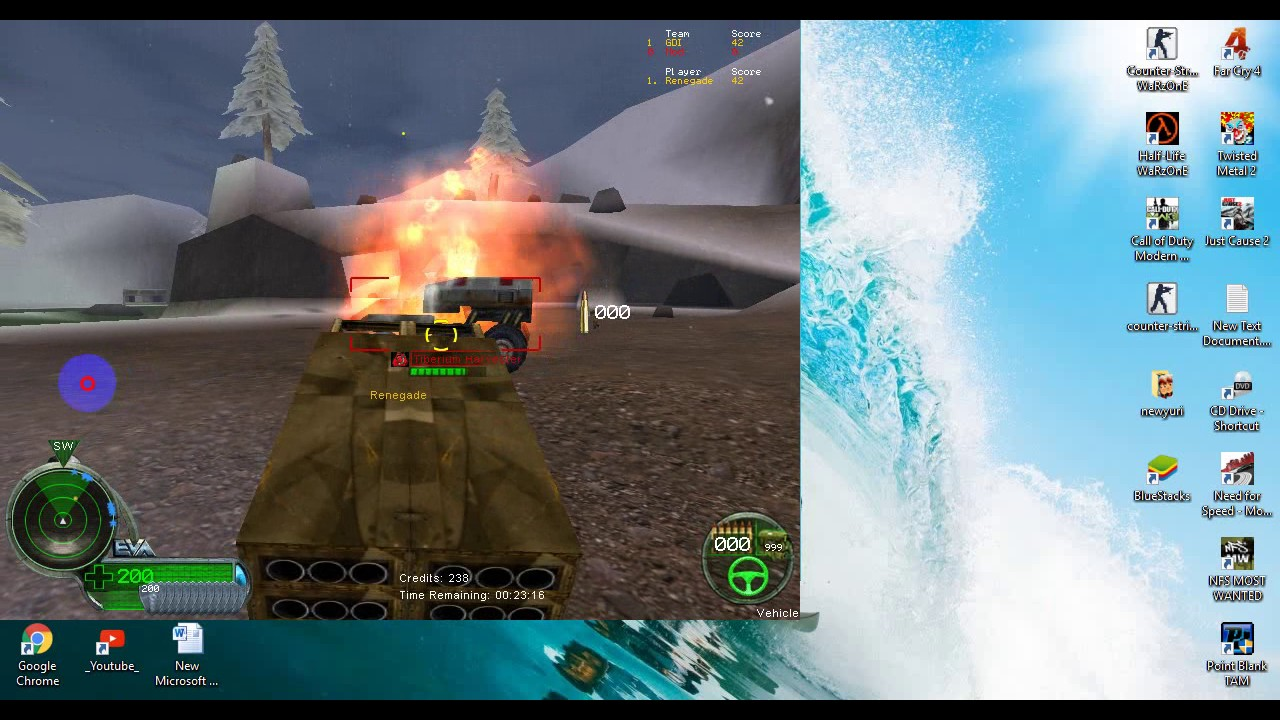 لعبة command and conquer renegade كاملة