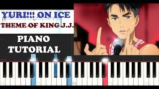 YURI!!! on Ice - Theme of King J.J. (EASY Piano Tutorial + FREE PIANO SHEET)
