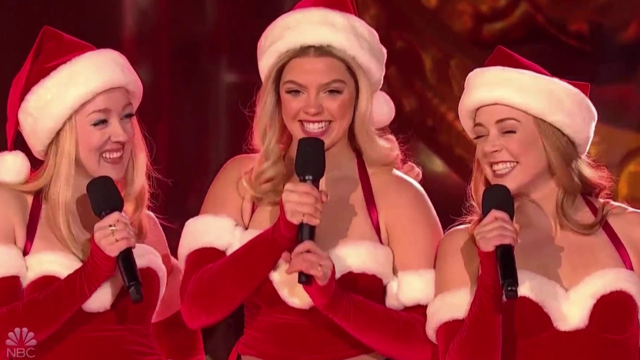 Hot Clip Of The Day Mean Girls Plastics Share The Jingle Bell Rock In Rockefeller Center The Daily Scoop verse c jingle bell, jingle bell, jingle bell rock. jingle bell rock in rockefeller center