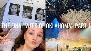 FINAL WEEK OK OKLAHOMA! PT 1. | VLOG | Georgie Ashford