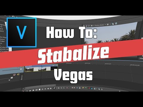 How To: Stabilize video in Vegas Pro 15 (Works in 14,13,12) No Shaky Footage!