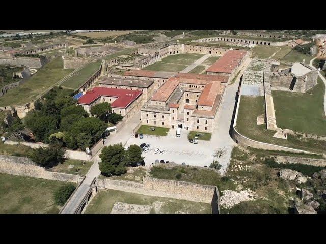 """LA FORTALESA """"Castell de Sant Ferran a vista de dron"""""""