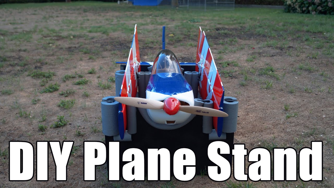 Diy Rc Plane Stand Youtube