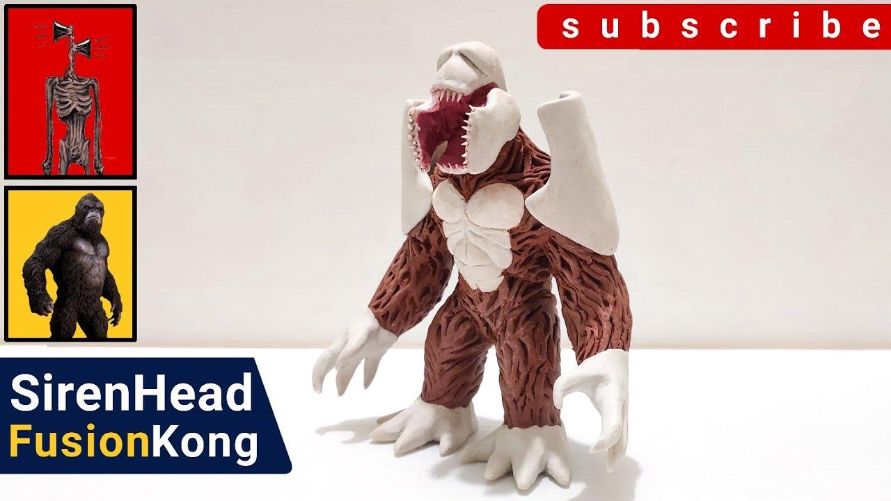 SirenHead Fusion Kong : StopMotion