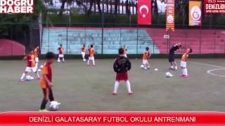Den Zl Galatasaray Futbol Okulu Antrenmani
