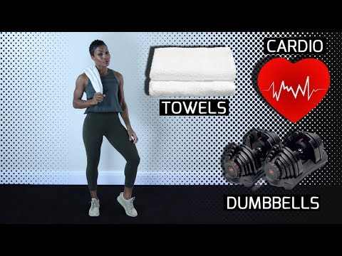 20 Minute HIIT Metabolism Booster - Total Body HIIT Workout.