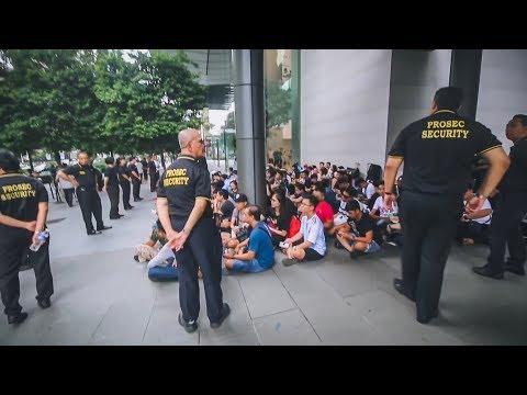 Mengejar IPhone XS dan iPhone XS Max Rela Nginep Depan Apple Store Singapore (Part 1- Indonesia)