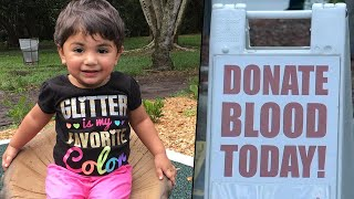Family of 2-Year-Old Florida Girl With Rare Blood Type Appeals For Donations