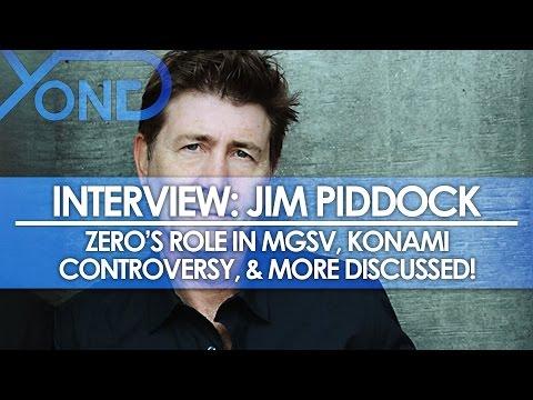 The Codec - Jim Piddock Interview: MGS3 Zero, Zero's Role in MGSV, Konami Controversy, & More!