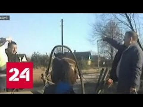 В Белоруссии полицейские остановили пьяного извозчика - Россия 24