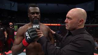 UFC 261: Uriah Hall Octagon Interview