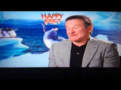 Robin Williams interview with Faye Barker