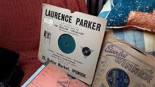 Estudiantina - Londonderry Air - Washington Post played on the Street Barrel Organ 78 rpm