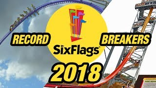 Six Flags Promises RECORD-BREAKING & Unique Rides for 2018...What are they?