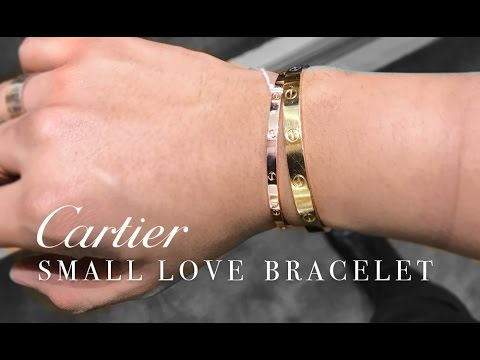 THE NEW  SMALL  CARTIER LOVE BRACELET  2017   YouTube THE NEW  SMALL  CARTIER LOVE BRACELET  2017