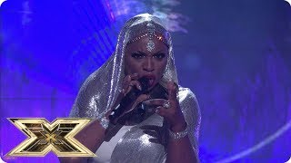 Janice Robinson sings Clarity | Live Shows Week 1 | The X Factor UK 2018