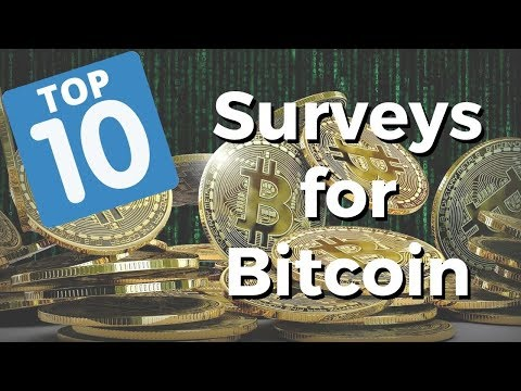 Top 10 Sites To Take Surveys For Bitcoin (100% FREE)