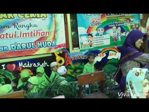 Bazar Ceria Dan Lomba Mewarnai Tema Anak Sholeh Youtube