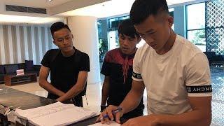 ĐTVN hội quân: Võ Huy Toàn, Xuân Mạnh, Hà Minh Tuấn xuất hiện cực sớm tại KS La Thành | Ted Trần