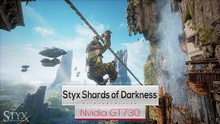 Styx Shards of Darkness on Intel Quad Core Q8400 & Nvidia GT730