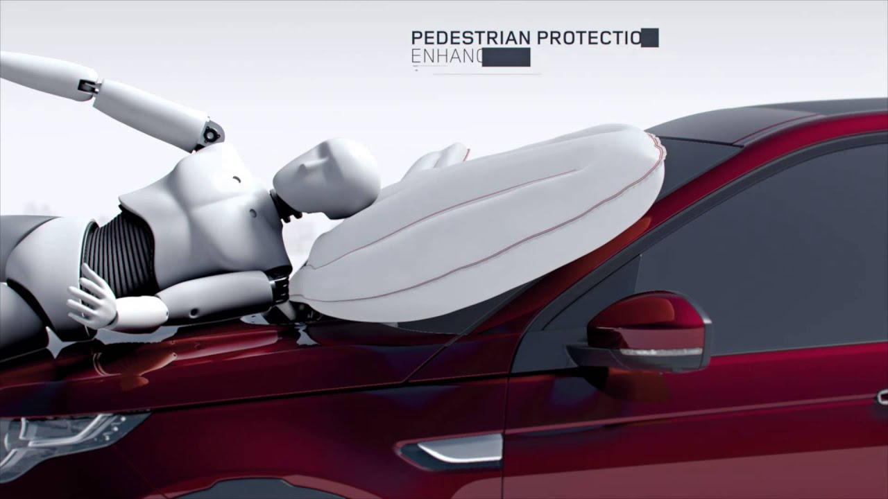 Land Rover Discovery Sport Pedestrian Airbag Youtube