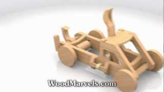 Mangonel Cnc: 3d Assembly Animation (720hd)