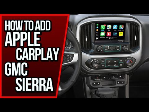 How To Add Apple CarPlay GMC Sierra 2014-2020 NavTool Video Interface DVD iPhone Android Auto DVD TV