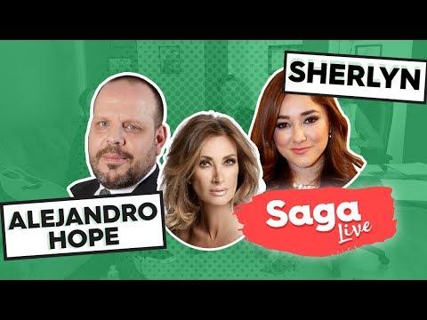 #SagaLive Sherlyn y Alejandro Hope, seguridad y elecciones con Adela Micha