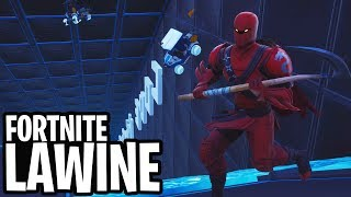 OMHOOG KLIMMEN IN EEN LAWINE! - Fortnite: Battle Royale MINI-GAME (Nederlands)