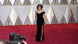 Taraji P. Henson 2017 Oscars Red Carpet