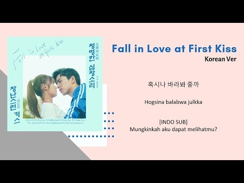 [INDO SUB] Song Min Kyung - A Clear Heart Sound Lyrics | Fall In Love At First Kiss OST Korean Ver