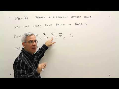 NB 32--List Primes in Different Number Base