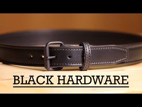 Black Gun Belt Hardware - Bigfoot Gun Belts