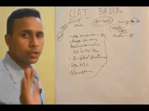 CRACK  CLAT( COMMON  LAW  ADMISSION  TEST)  BA LLB ,NATIONAL  LAW  UNIVERSITY  TEST