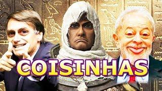 BAYEK INTOLERANTE - (Dublando Coisinhas Assassin's Creed Origins)
