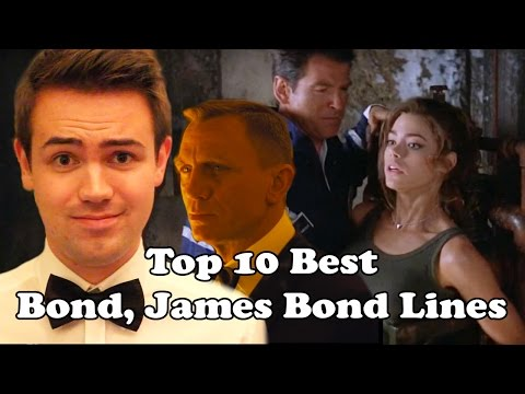Top 10 Best Bond, James Bond Lines