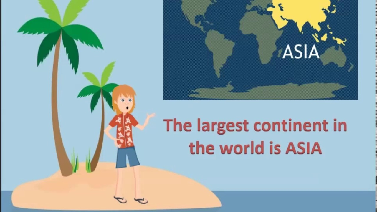What Is The Largest Continent In The World YouTube - What is the biggest continent